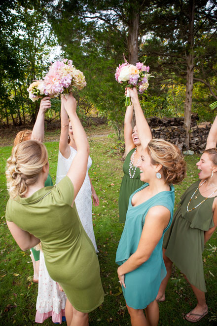 on-site Cape May wedding stylists